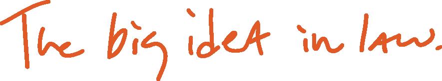 The big idea in law